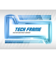 Abstract Tech vector image