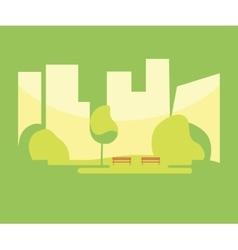 City park background vector