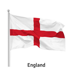 Flag england vector