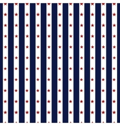 Hapy Independence Day seamless pattern vector image