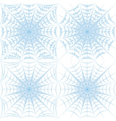 Set of color patterns with spider web and drops vector