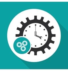 Technical service and call center icon design vector