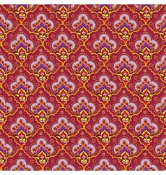 Indian seamless ethnic pattern vector image