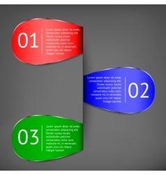 Demographic elements vector image
