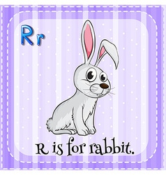 Letter R vector image