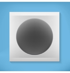 Home ventilation vector image