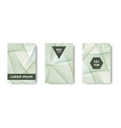 annual report design minimal geometric vector image