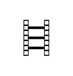 film reel icon eps10 film reel icon vector image