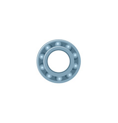 flat car bearing isolated icon vector image