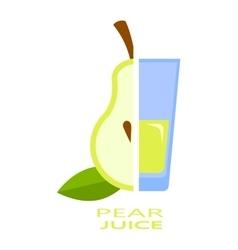 Pear Juice vector