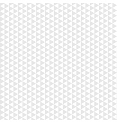 Seamless pattern gray triangle on white background vector