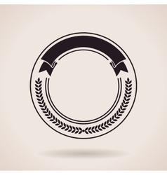 Stamp calligraphic design logo Luxury vector