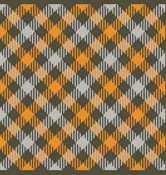 tartan fall seamless pattern plaid vector image