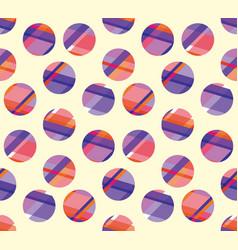 Concept modern polka dot seamless pattern surface vector