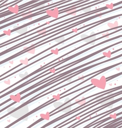 Heart background for love concepts vector image vector image