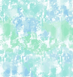 Green blue watercolor background or texture vector image