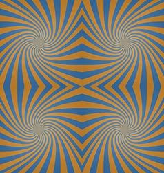 Azure bronze whirl background vector