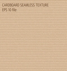 cardboard seamless textured pattern vector image