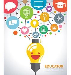Educator vector
