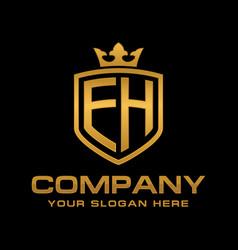 eh logo vector image
