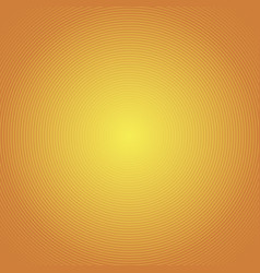 sun rays circle rays orange background spiral vector image