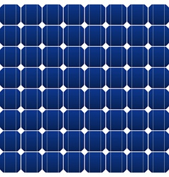 photovoltaic panel vector image