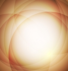 Abstract orange background with circle vector image vector image