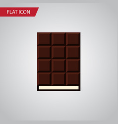 isolated wrapper flat icon dessert element vector image