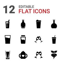 Juice icons vector