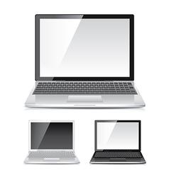 Object laptop vector