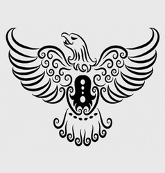 Eagle ornament vector image vector image