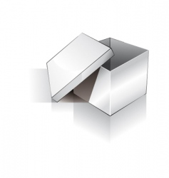 3d box vector image vector image