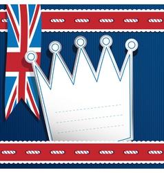 uk decoration vector image