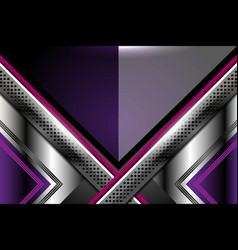 Abstract background violet metallic vector