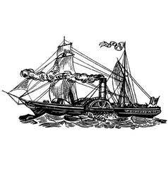 Boat sirius vector