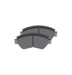 Brake pads isolated vector