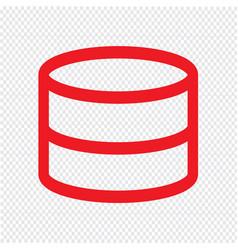 Data storage icon design vector