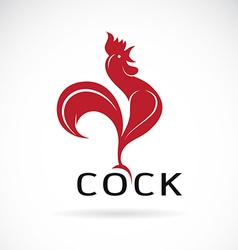 image of an cock design vector image