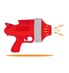 space gun vector image