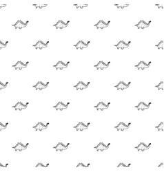 stegosaurus pattern seamless vector image