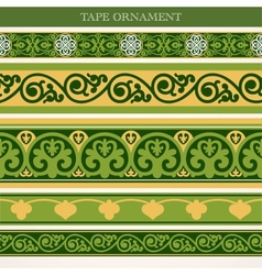 Tape ornament vector image