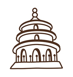 A temple vector