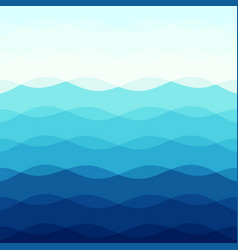 abstract blue tone background with curve lines vector image
