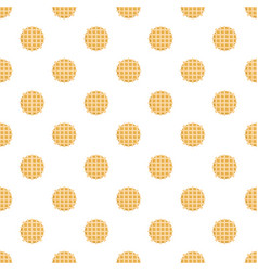 Biscuit pattern seamless vector
