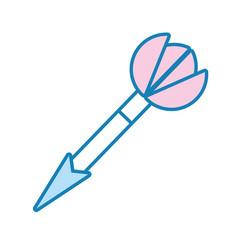 dart target vector image