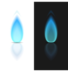 Gas Flame vector image