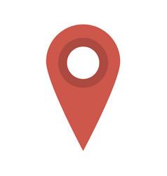 gps pin icon image vector image