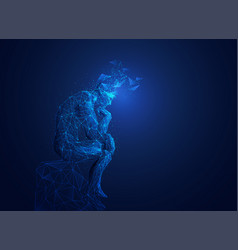 greatthinker vector image