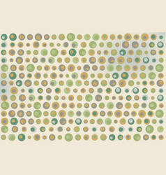 green gray and brown dots texture on beige vector image