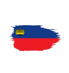 liechtenstein flag vector image
